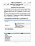 Formato de evaluación de originales de libros o textos didácticos by Ediciones Unisalle