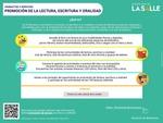 Infografía: Promoción de la Lectura, Escritura y Oralidad