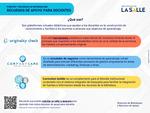 Infografía: Recursos de Apoyo para Docentes