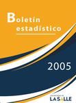 Boletín estadístico 2005