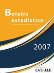 Boletín estadístico 2007