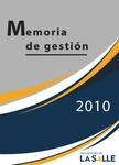Memorias de gestión 2010