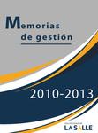 Memorias de gestión 2010-1013