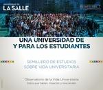 Boletín 7. Una universidad de y para los estudiantes: semillero de estudios sobre vida universitaria by Universidad de La Salle. Observatorio de la Vida Universitaria