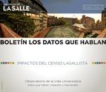 Boletín 8. Boletín los datos que hablan: impactos del censo lasallista by Universidad de La Salle. Observatorio de la Vida Universitaria