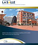 Boletín 26. Misión Educativa Universitaria Lasallista- septiembre by Dirección de Planeación Estratégica
