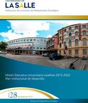 Boletín 28. Misión Educativa Universitaria Lasallista 2015-2020 noviembre by Dirección de Planeación Estratégica