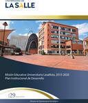 Boletín 29. Misión Educativa Universitaria Lasallista 2015-2020 marzo by Dirección de Planeación Estratégica