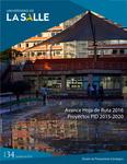 Boletín 34. Avance Hoja de Ruta 2016. Proyectos PID 2015-2020 by Dirección de Planeación Estratégica