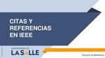 Guía Citas y Referencias IEEE