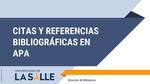 Guía Normas APA Séptima 7.ª Edición 2020
