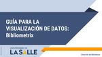 Guía de visualización de datos: Bibliometrix
